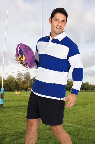 Adult and Kids Striped Rugby
