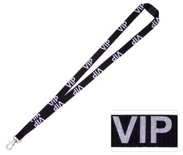VIP Lanyard Silve