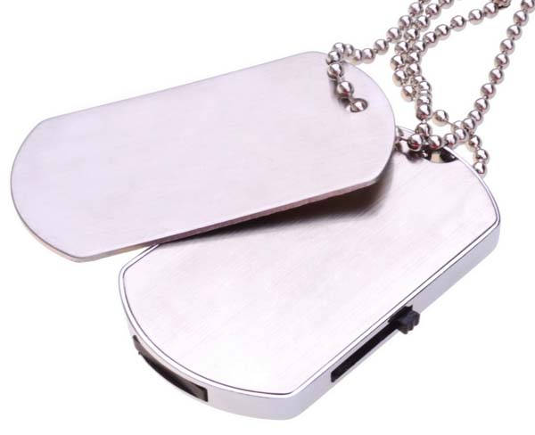 Dog Tag Flash Drive