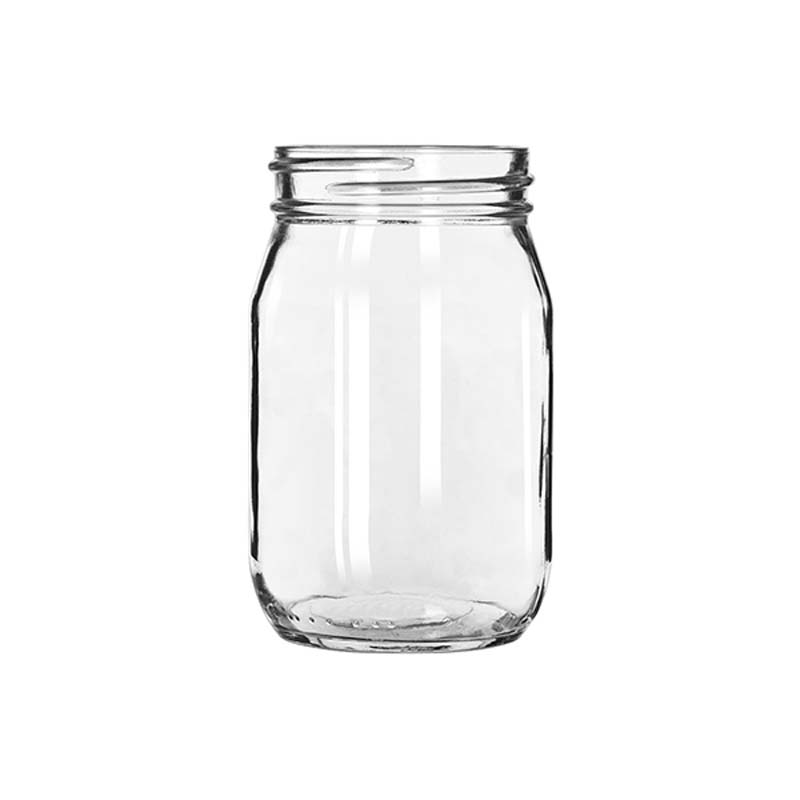 Drinking Jar Without Handle 473ml