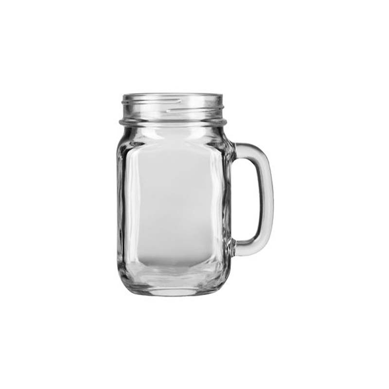 Drinking Jar With Handle 488ml