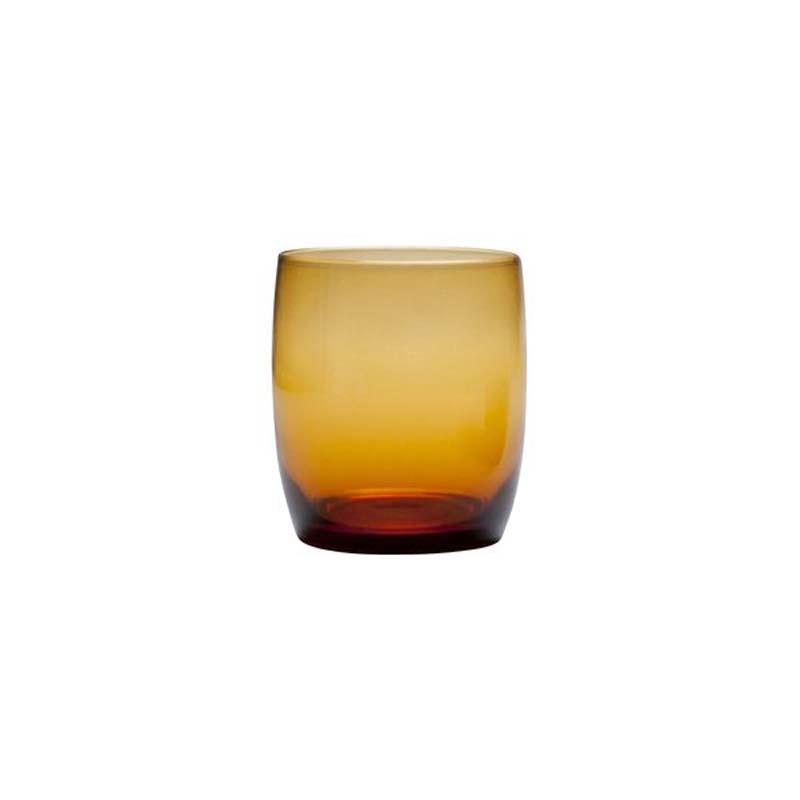 Gala Bar Rocks / Water Glass Amber