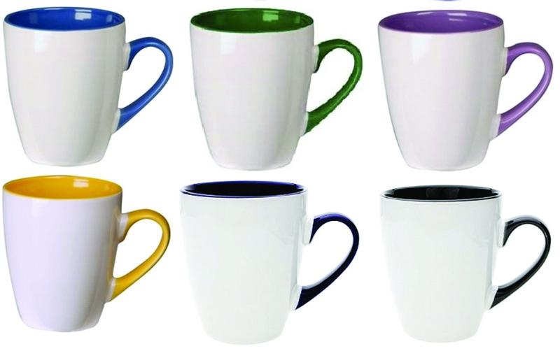 Calypso Printed Mug Two Tone