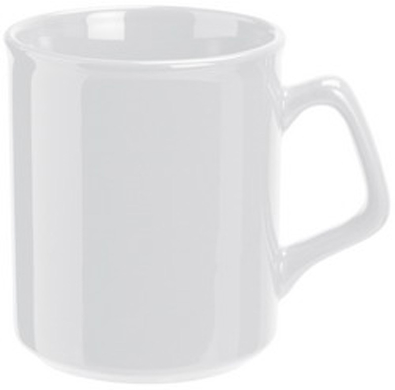 White Classic Flared Coffee Mug