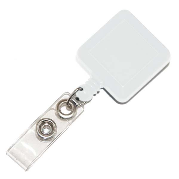 Square Retractable Card Holder