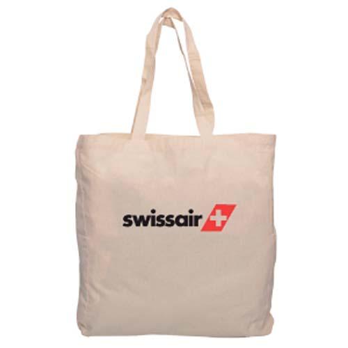 Printed Calico Shopping Bag