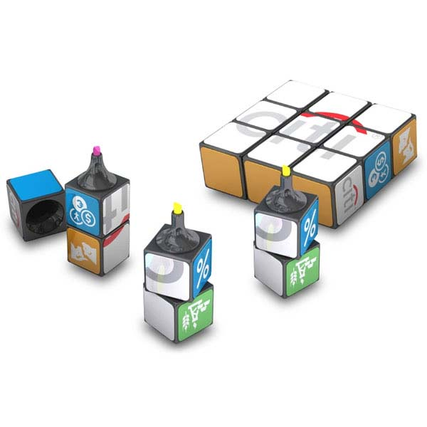 Rubik's Highlighter - Set of 3
