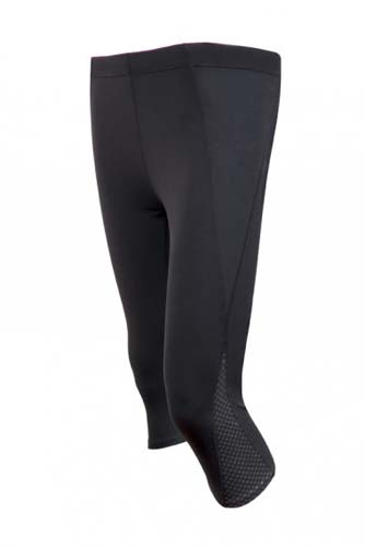 Ladies AVA Nylon Spandex 3/4 Leggings