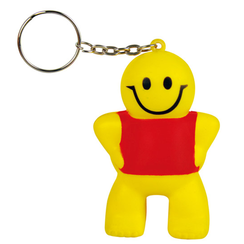 Stress Little Man Key Ring