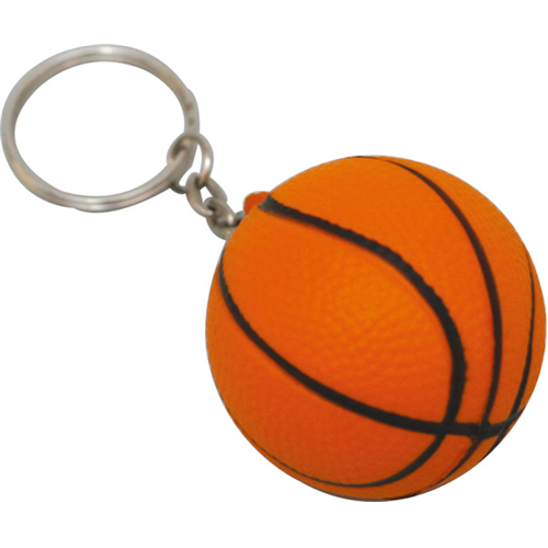 Stress Basketball Keyring