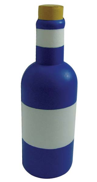 Stress Wine Bottle
