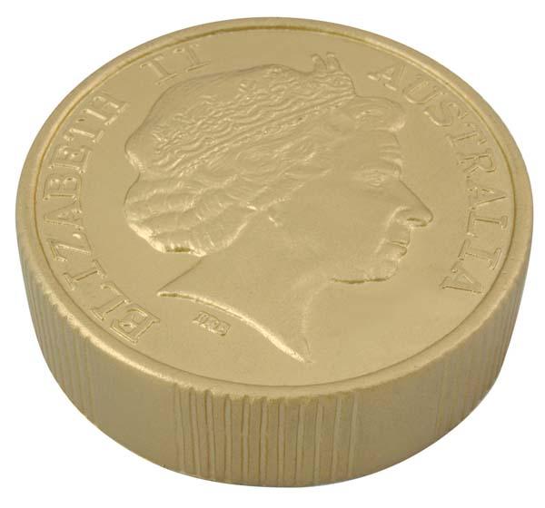 Stress Coin - Gold