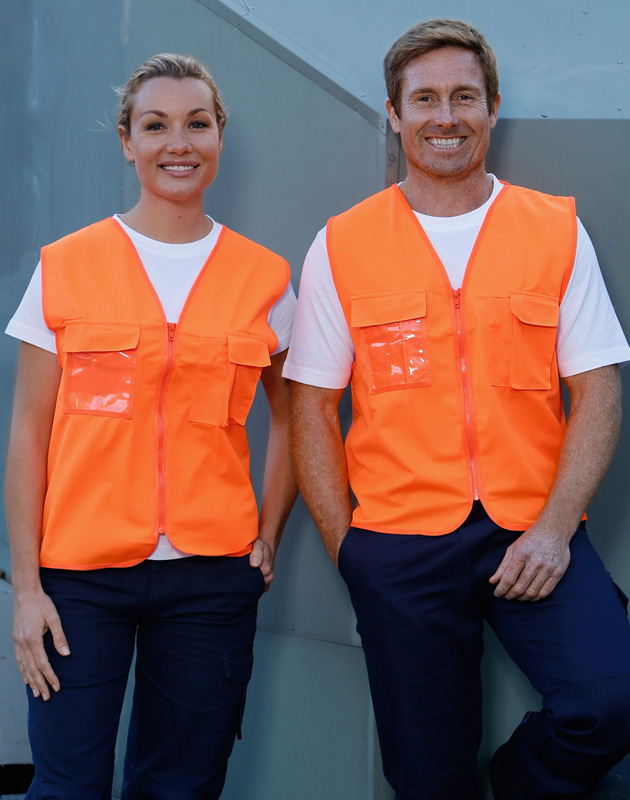 Winning Spirit Hi Vis Safety Vest