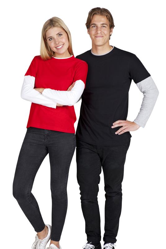 Unisex Double Sleeve T-Shirts
