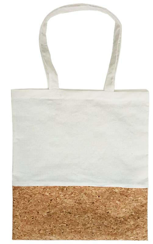 Calico Bag with Cork