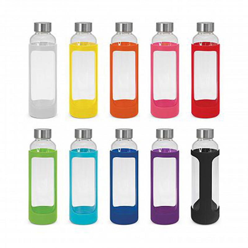 Silicone Sleeve Glass Bottle