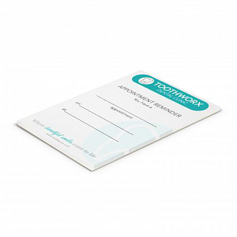 A7 Notepad Full Colour Print