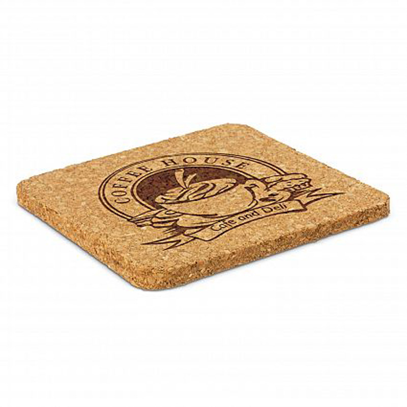 Square Oakridge Cork Coaster