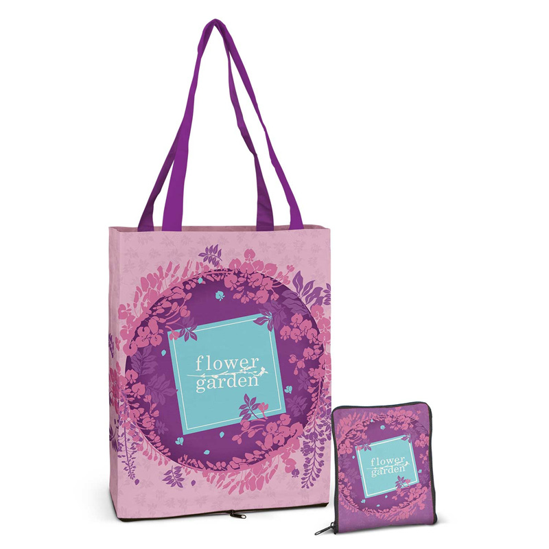 Dallas Full Colour Compact Cotton Tote Bag