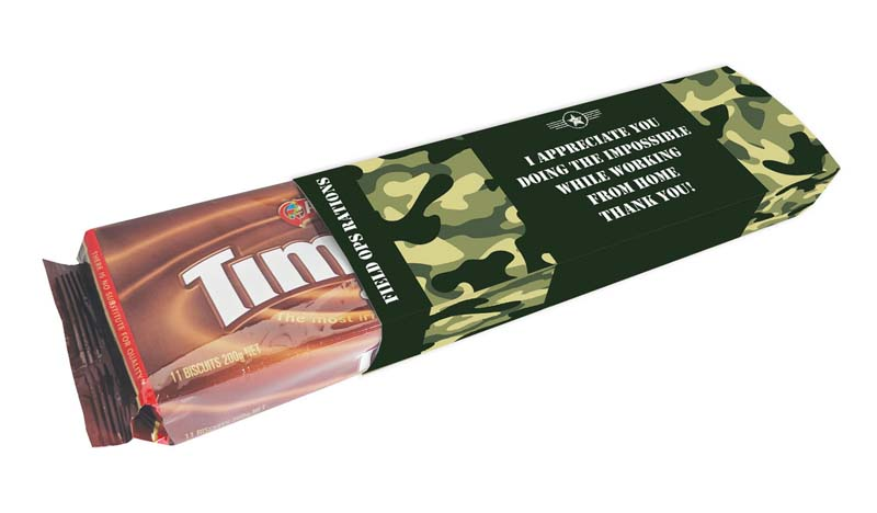 PERSONALISED PACKET OF TIMTAMS