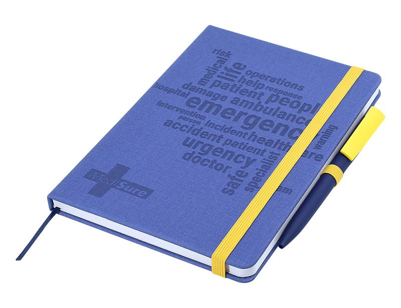 Designa Deboss Linen Notebook A5 Air