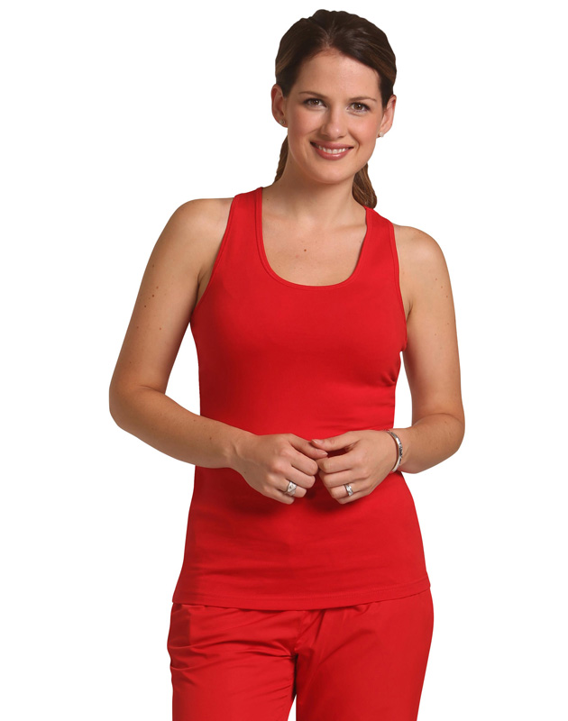 Ladies Stretch Raceback Singlet