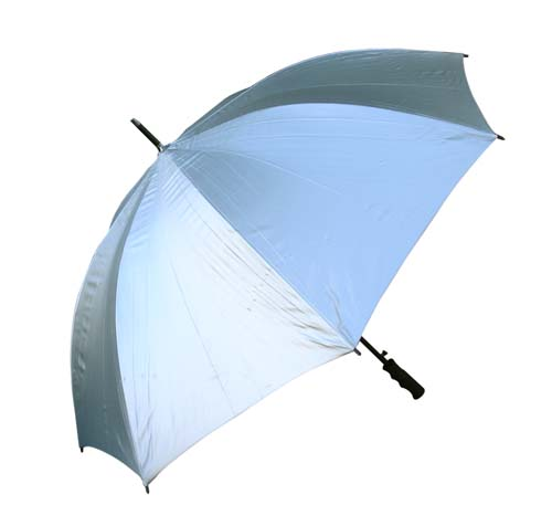 Sans Silver Golf Fibreglass Umbrella