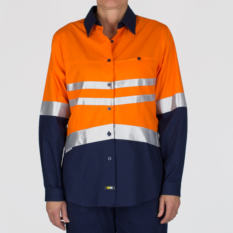 Visitec Ladies Fusion Hi-Vis Shirt