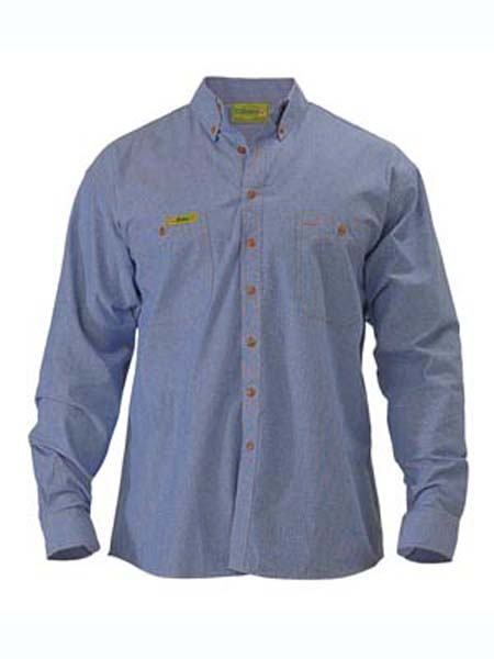 Bisley Insect Protection Chambray Shirt
