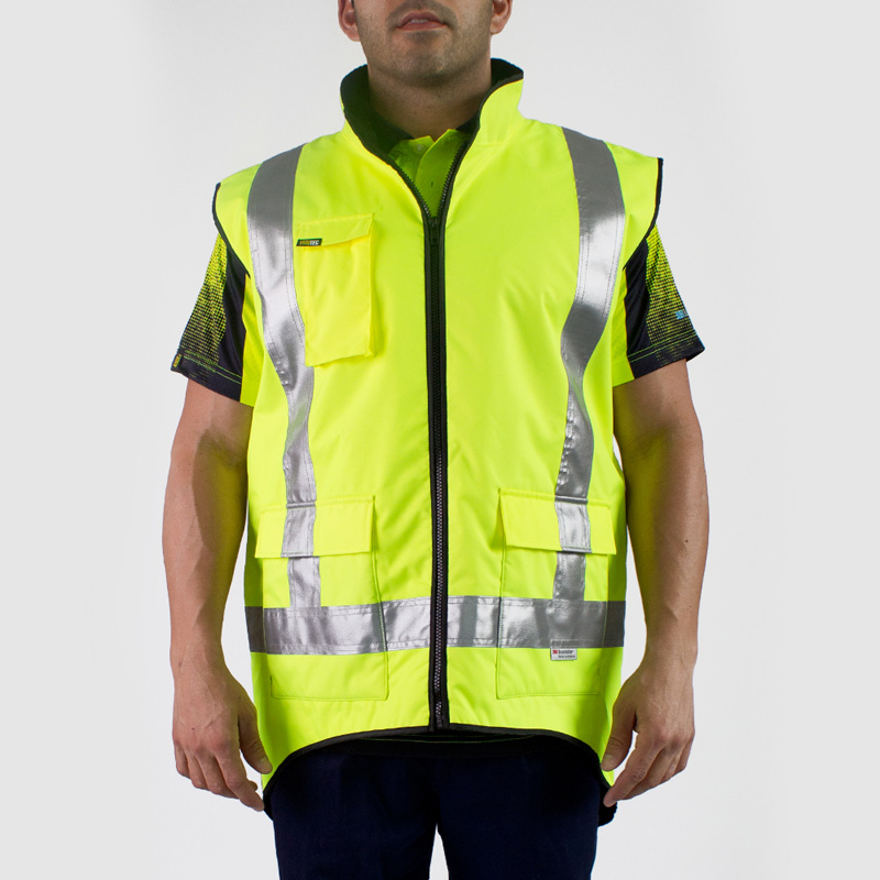 Visitec TTMC Fleece Lined Vest