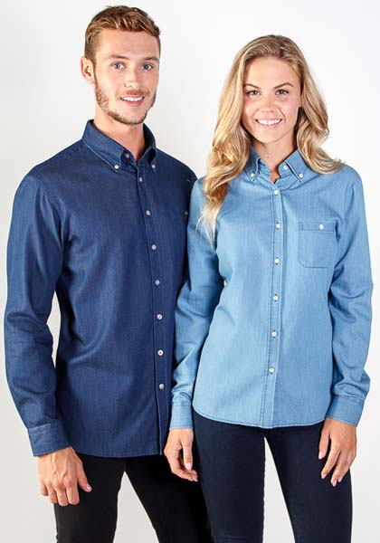 Dylan Denim Casual Shirt