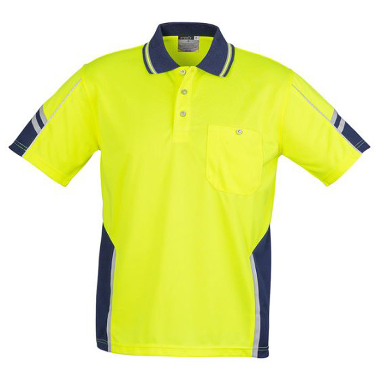 Unisex Hi Vis Short Sleeve Polo