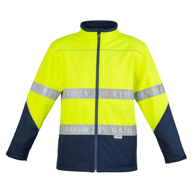 Syzmik Hi Vis Soft Shell Jacket