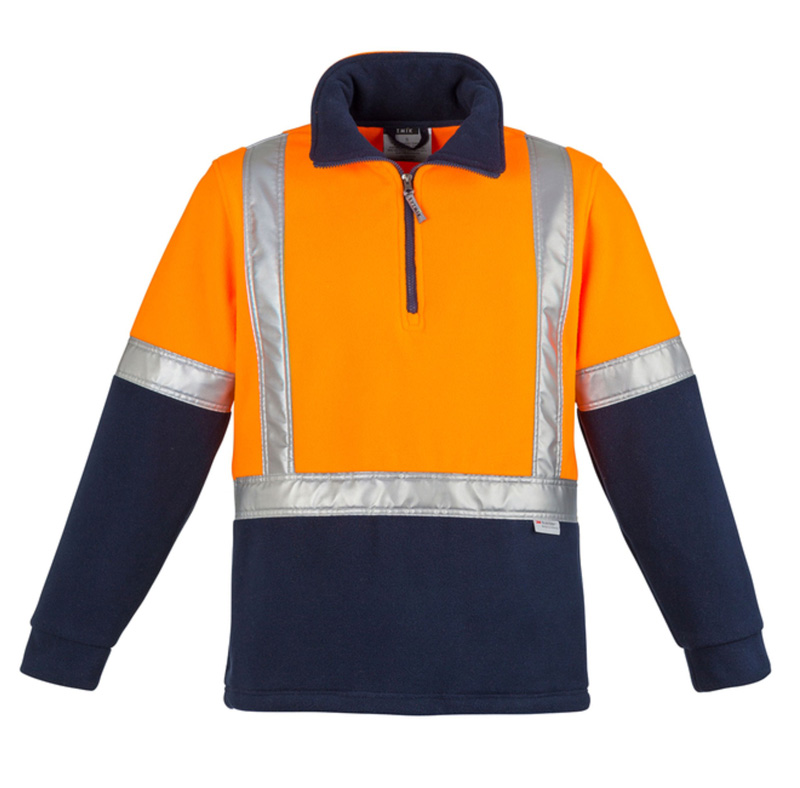 Syzmik Hi Vis Fleece Jumper - Shoulder Taped