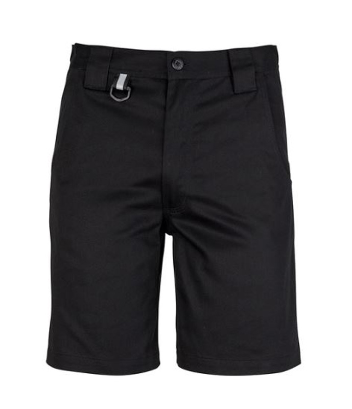 Syzmik Mens Plain Utility Short