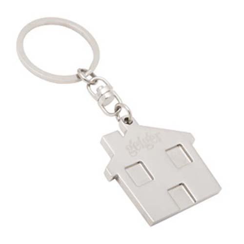 House Shape Key Rings