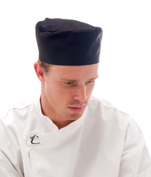Cool Breeze Flat Top Chef Hat