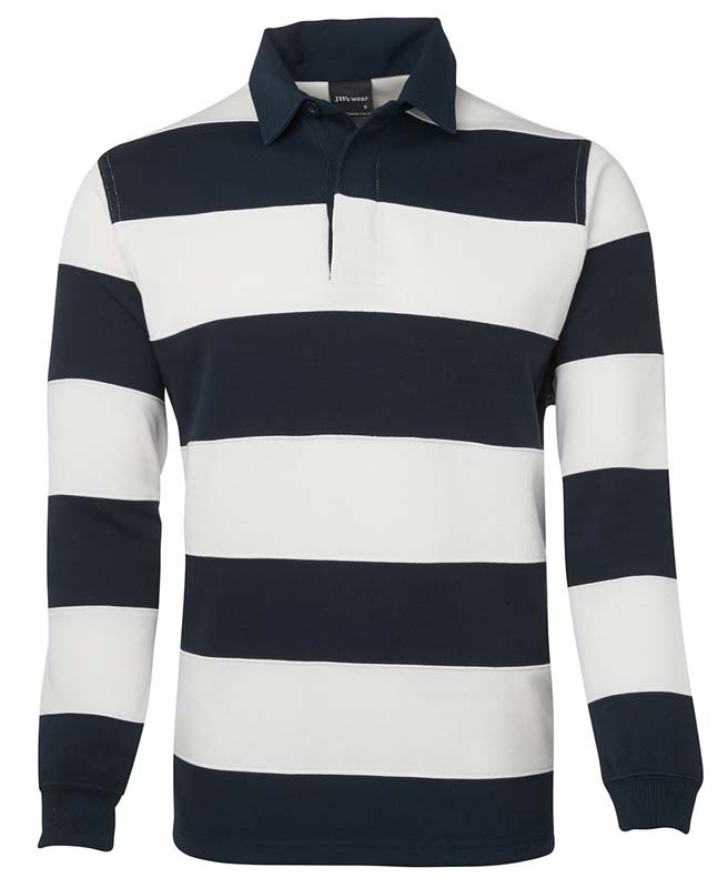 Striped Rugby Jumper