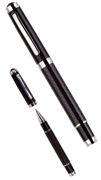 Carbon Fibre Rollerball Pen