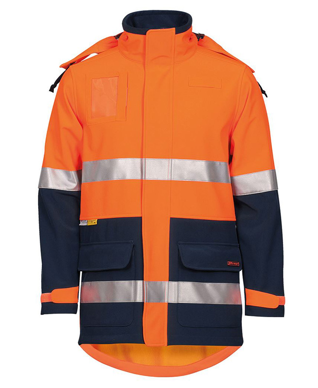 JB Hi Vis Soft Shell Industry Jacket