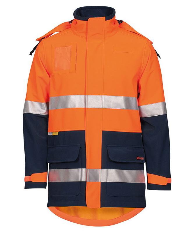 JB Hi Vis Soft Shell Industry Jacket