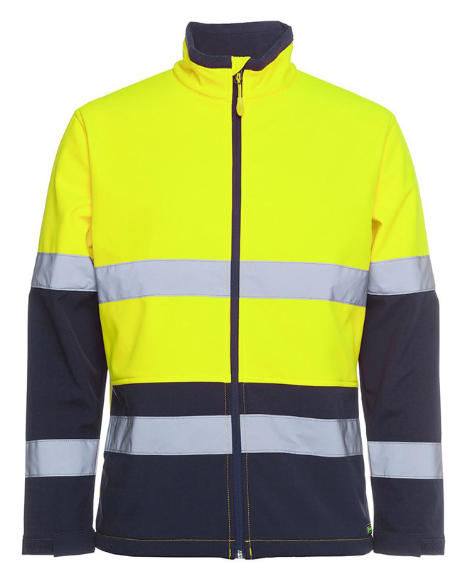 JB Hi Vis Water Resistant Softshell Jacket