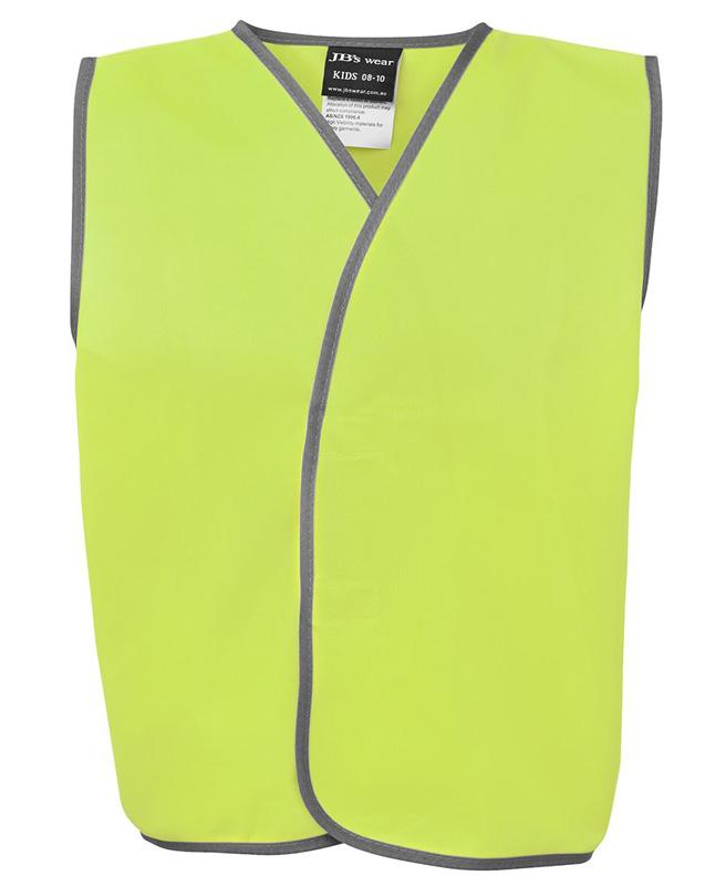 JB Hi Vis Safety Vest (Kids)
