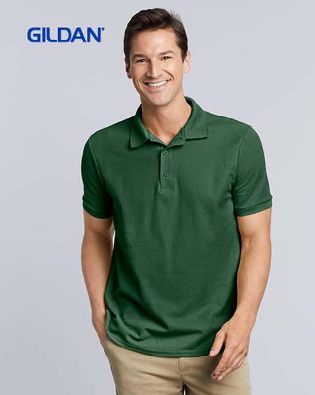 Gildan 100% Cotton Double Pique Polo Shirt