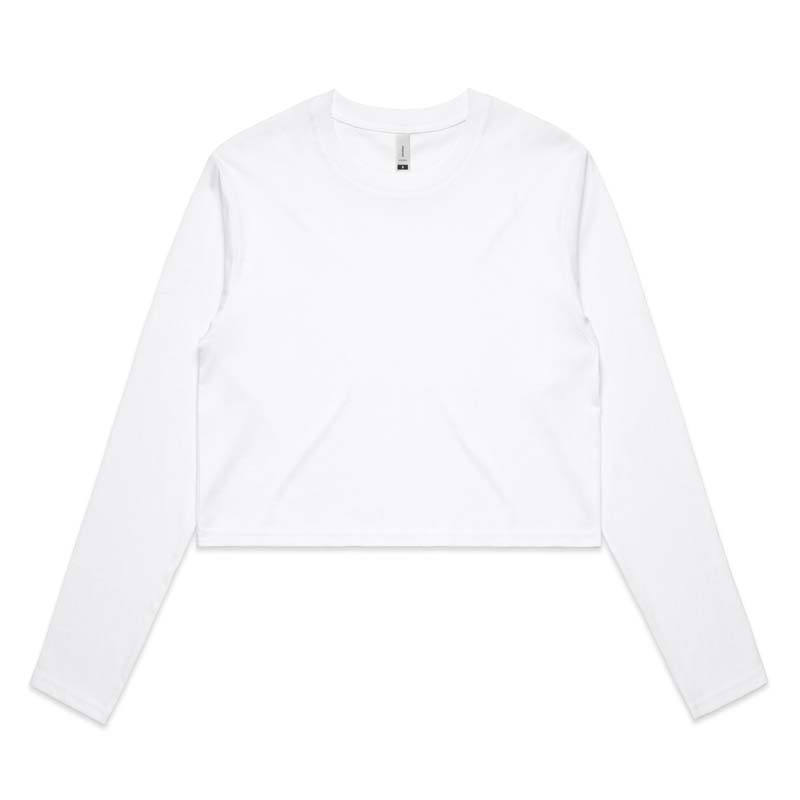 AS Colour Crop Long Sleeve Tee