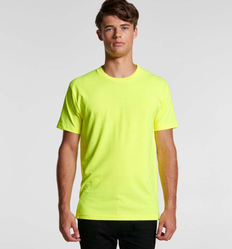 AS Colour Block Tee (Safety Colours)