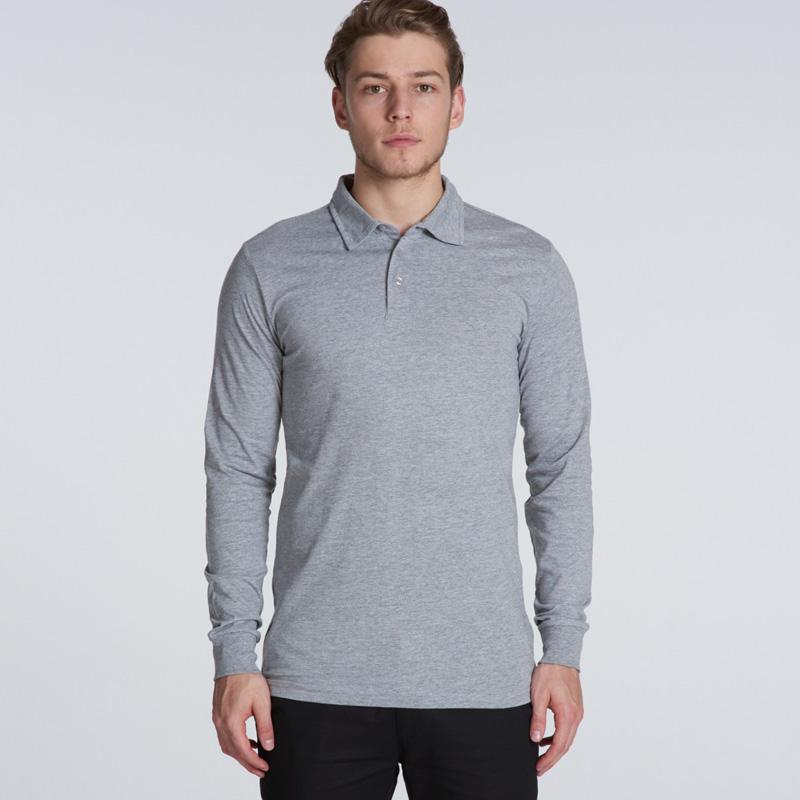 AS Colour Chad Long Sleeve Polo
