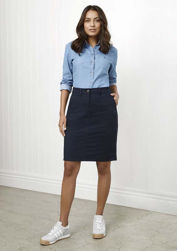 Lawson Ladies Chino Skirt