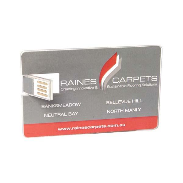 Acrylic Credit Card Flash Drive 2GB