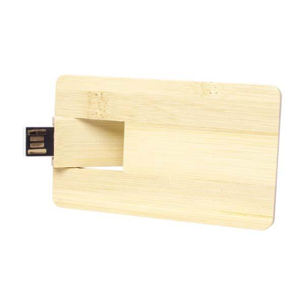 Bamboo Credit Card Drive - 4GB